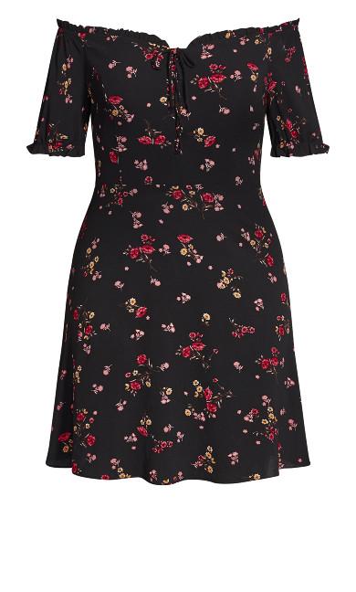 Pretty Punch Dress - black