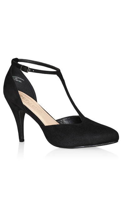 Stefania Heel - black