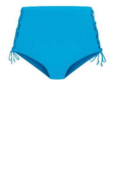 Cancun Bikini Tie Brief  - lagoon
