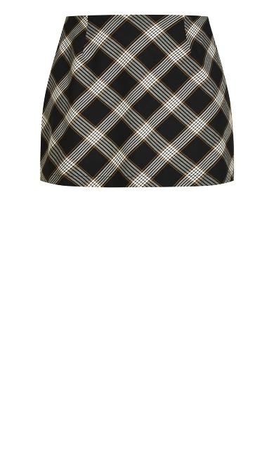 Checkmate Skirt - check