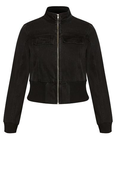 Raver Jacket - black