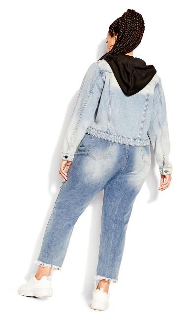 Denim Hood Jacket - light denim
