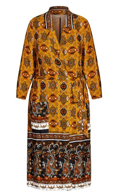 Paisley Spice Jacket - golden