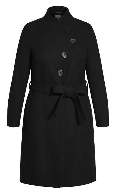Sophisticated Coat - black