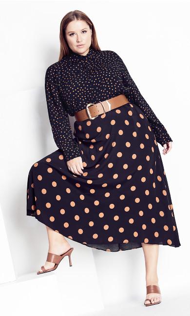 Fudge Spot Skirt - fudge