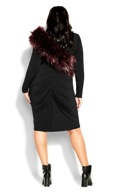 Lady Love Dress - black