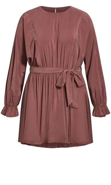 Romanticise Tunic - amaretto