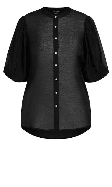 Diamond Affair Top - black