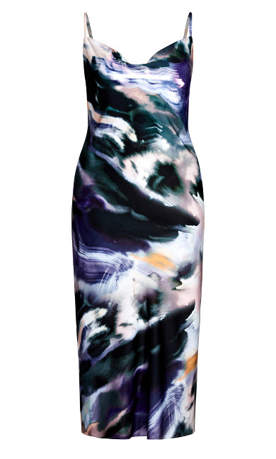 Misty Eclipse Dress - mist