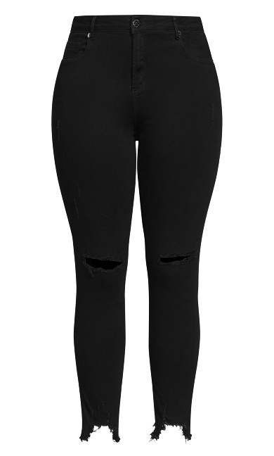 Harley Eclipse Jean - black