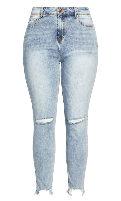 Harley Eclipse Jean - light denim