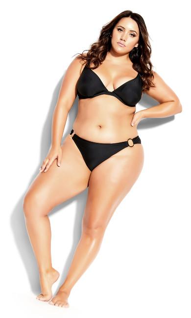 Ingrid Bikini Brief - black
