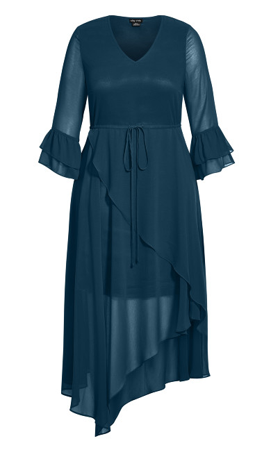 Hidden Treasure Maxi Dress - alpine