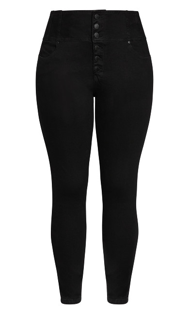 Harley Romantic Corset Jean - black