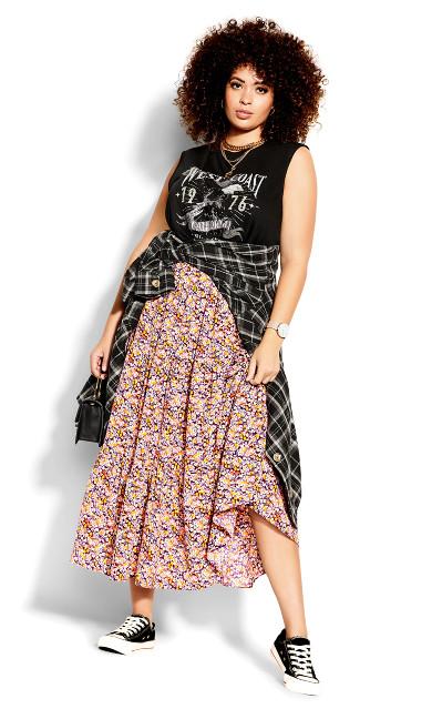 Fresh Ditsy Skirt -