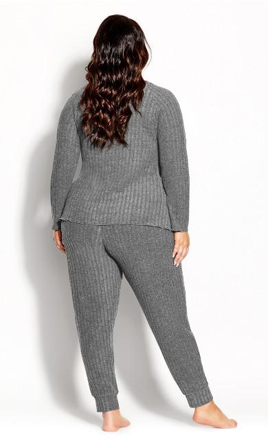 Ella Sleep Pant - grey marle
