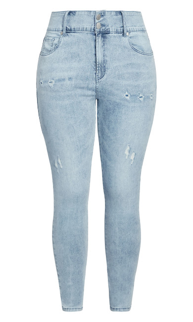 Baby Rip Jean - light denim