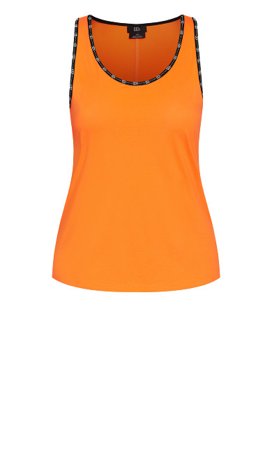 Punch It Tank - orange