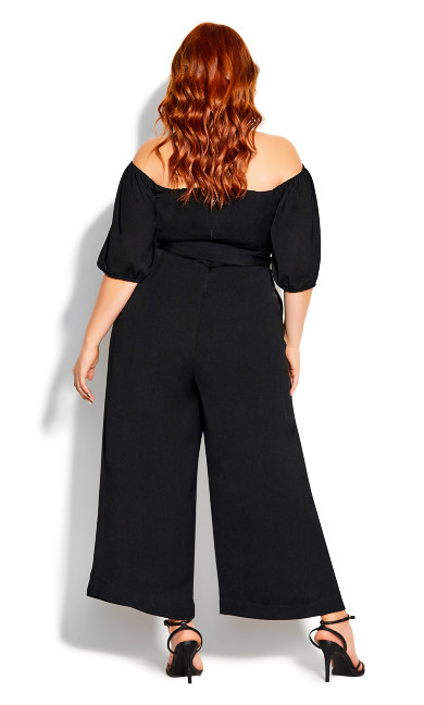 Summer Crush Jumpsuit - black