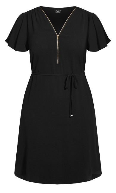 Sweet Fling Dress - black