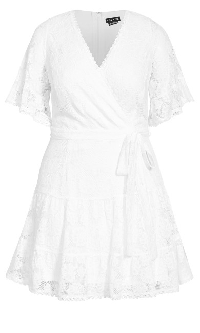 Garden Kisses Dress - ivory