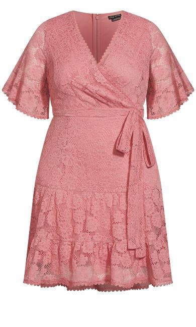 Garden Kisses Dress - misty rose