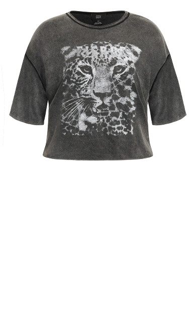 Wild Night Tee - black