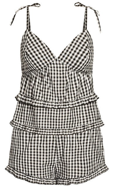 Ashleigh PJ Set - gingham