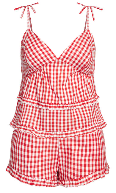 Ashleigh PJ Set - red