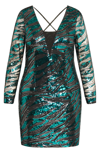 Divinity Dress - emerald