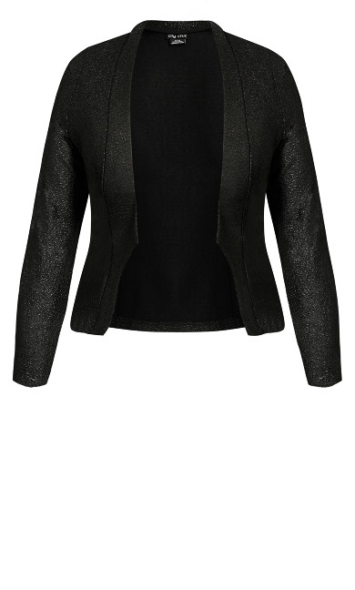 Shining Light Jacket - black