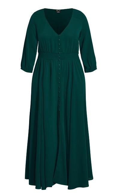 Desire Maxi Dress - sea green