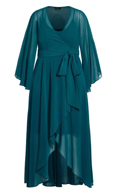 Fleetwood Maxi Dress - teal