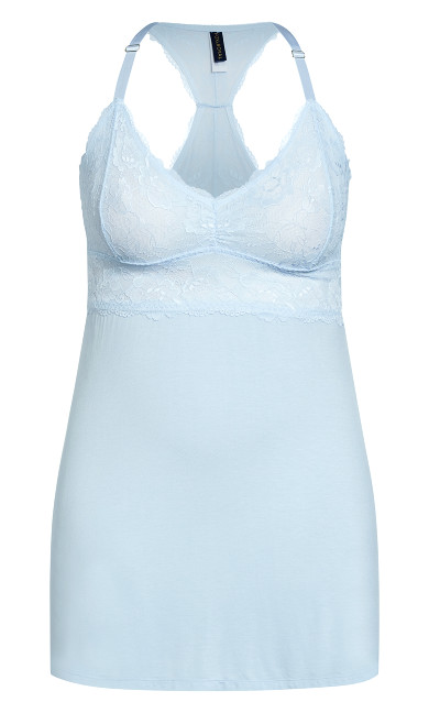 Kira Chemise - sky blue