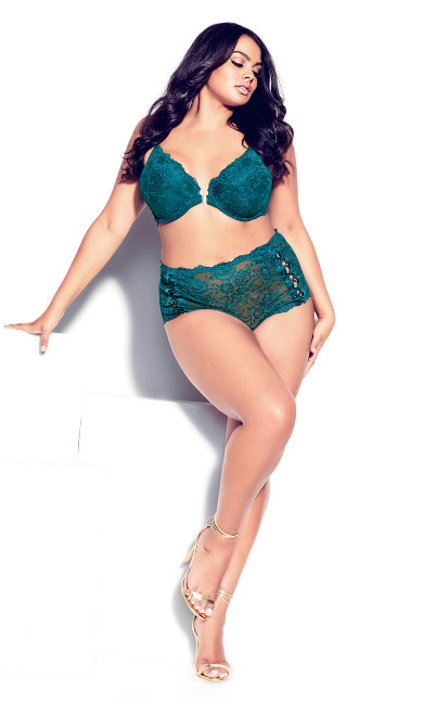 Pia Push Up Bra - teal