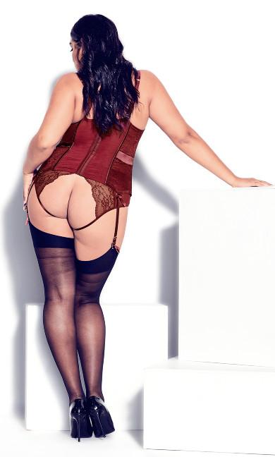 Marilyn Bustier - pomegranate