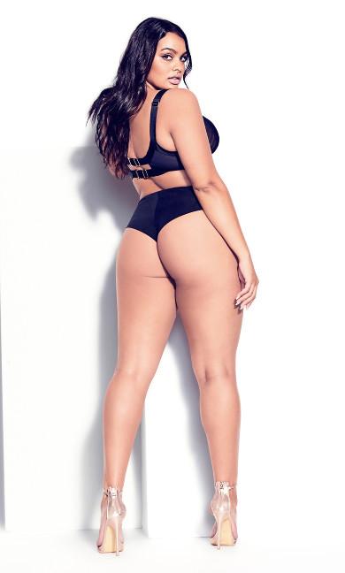 Angelika Underwire Bra - black