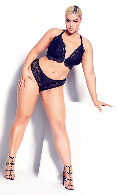 Lucinda Bralette - black