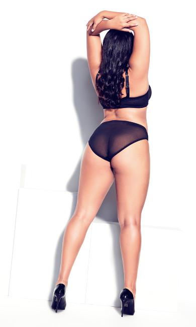 Cindy Demi Underwire Bra - black
