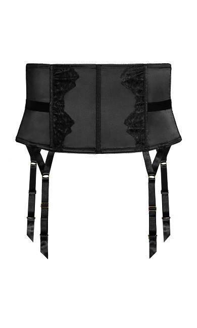 Adrianna Garter Belt - black