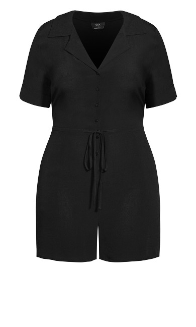 Dreamer Playsuit - black
