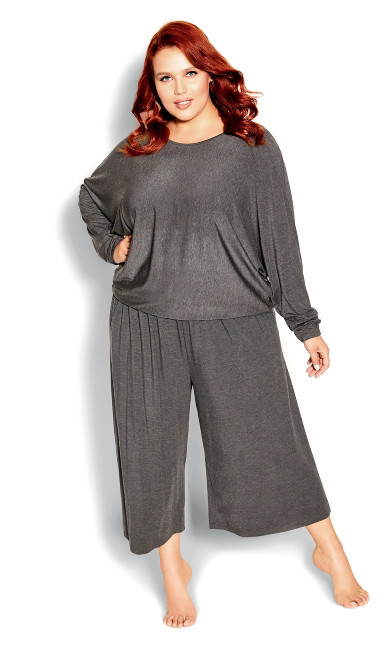Ruby Top - charcoal