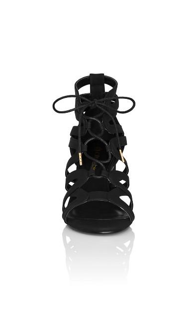 Plus Size Zola Heel - black