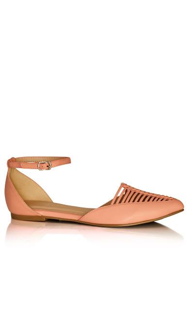 Adie Flat - peony pink