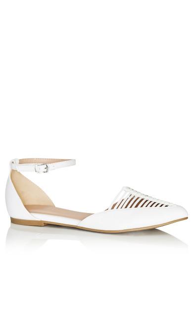 Adie Flat - white