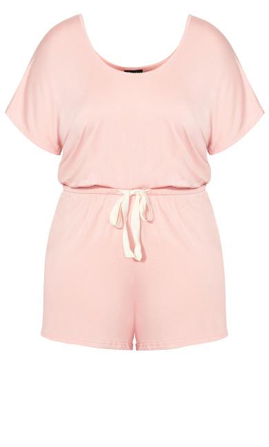 Carrie Romper - sweet pink
