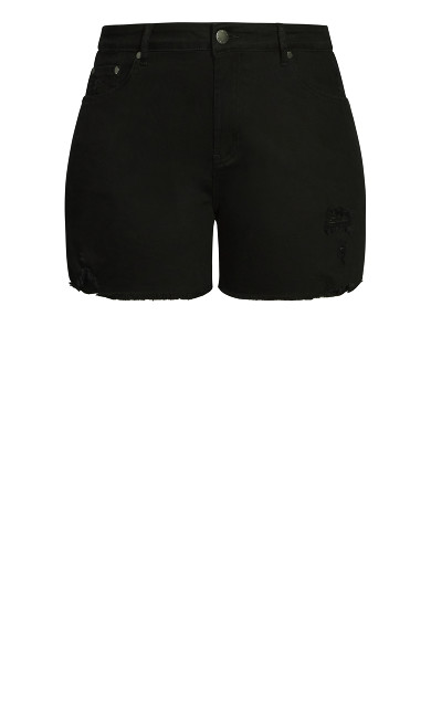 Ripped Vibes Short - black