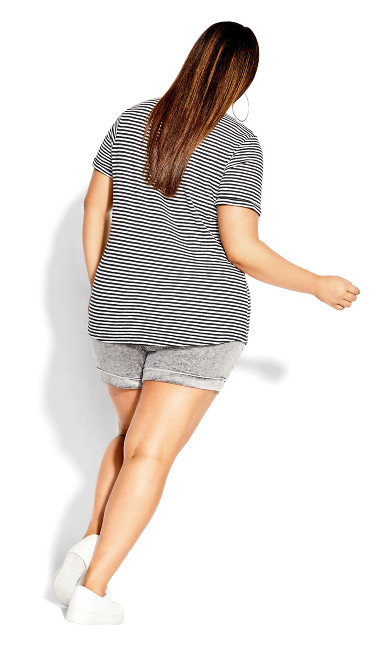 Cute Stripe Tee - stripe