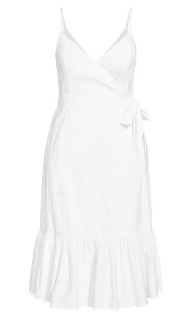 Sweet Tie Dress - ivory