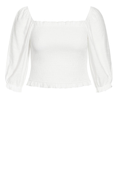 Fearless Top - ivory